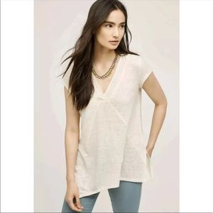 Anthropologie Meadow Rue Pieced Tee